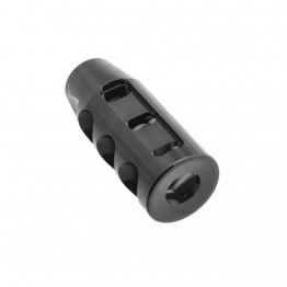 "AR 9mm Custom TPI Competition Muzzle Brake 1/2 x 36"" Pitch Thread"