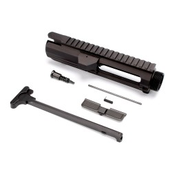 .308 Flat-Top Upper Receiver Kit - Made in U.S.A. - Incl. Ejection Port Kit, Forward Assist, & Charging Handle-Unassembly