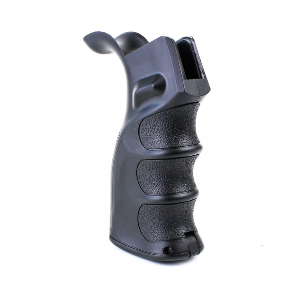 Ergonomic Pistol Grip With Beavertail Black