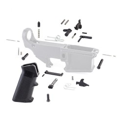 Lower Parts Kit ExcludeTrigger and Hammer (MC, SSL-S, BC, DS, 2*(LK-12), LK-34, 2*(LK-5), T-PIN, P-PIN, A2GRIP, PSCREW, TG-O,TS, HS, DISC, DISC-S)