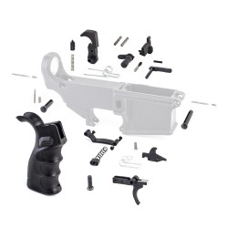 Lower Parts Kit w/ Upgraded Grip & Extended Trigger Guard