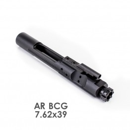 AR 7.62x39 Bolt Carrier Group- Black Nitride (Made in USA)