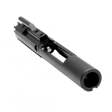 AR-15 Bolt Carrier Group Assembly - Flat Design - Black Nitride (Made in USA)