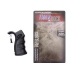 AR Tactical Hybrid Pistol Grip - Black Rubber Over Molded - Packaged