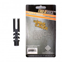 "308 Extended Length 4"" Zombie Slayer Muzzle Brake Packaged"