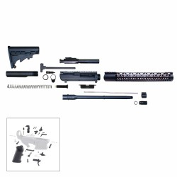 ".308 Rifle Kit 16"" DPMS Style Rifle Kit w/ 15"" Keymod Handguard - Unassembled"