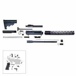 """.308 Rifle Kit 16"""" DPMS Style Rifle Kit w/ 15"""" Keymod Handguard - Unassembled"""