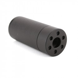 "AR-15 3"" Muzzle Brake Fake Can Mock -Over Barrel Exp.Thread"