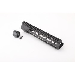 "AR-15 10"" Custom USA Made M-Lok Super Slim Light Free Float Handguard  (MADE IN USA)"