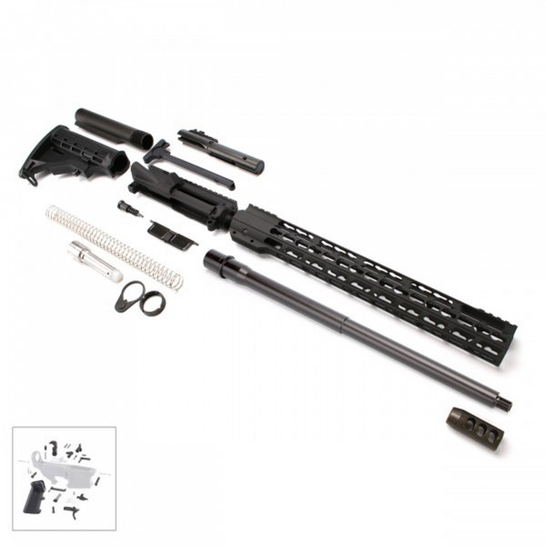 "AR 9MM Rifle Kit with 16"" Barrel and 16"" Slim Keymod Handguard with LPK"