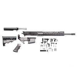 """AR-15 Rifle Build Kit with LPK and 80% Black Lower & 12"""" Super Slim Light Keymod Quad Rail (223UP, ARFA, DC223, CH223, FSSK12, GB01-B, GTC, MBR05, TL223, BR167-P, ST003M, ST007M, LPK-17, 223LOWER)"""