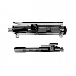 AR-15 Complete Upper Receiver Assembly with Foreward Assist & Dust Cover and Bolt Carrier Group- Black Nitride - 9310 Bolt