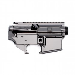 AR-15 Complete Upper Receiver Assembly with 80% AR-15 Lower Receiver Anodized Includes Foreward Assist & Dust Cover