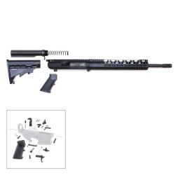 """AR .308 16"""" RIFLE BUILD KIT W/ 12"""" KEYMOD HANDGUARD (ASSEMBLED UPPER)"""