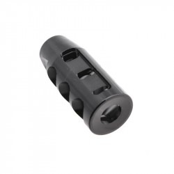 "AR 9MM Competition Muzzle Brake 1/2x36"" Pitch Thread"